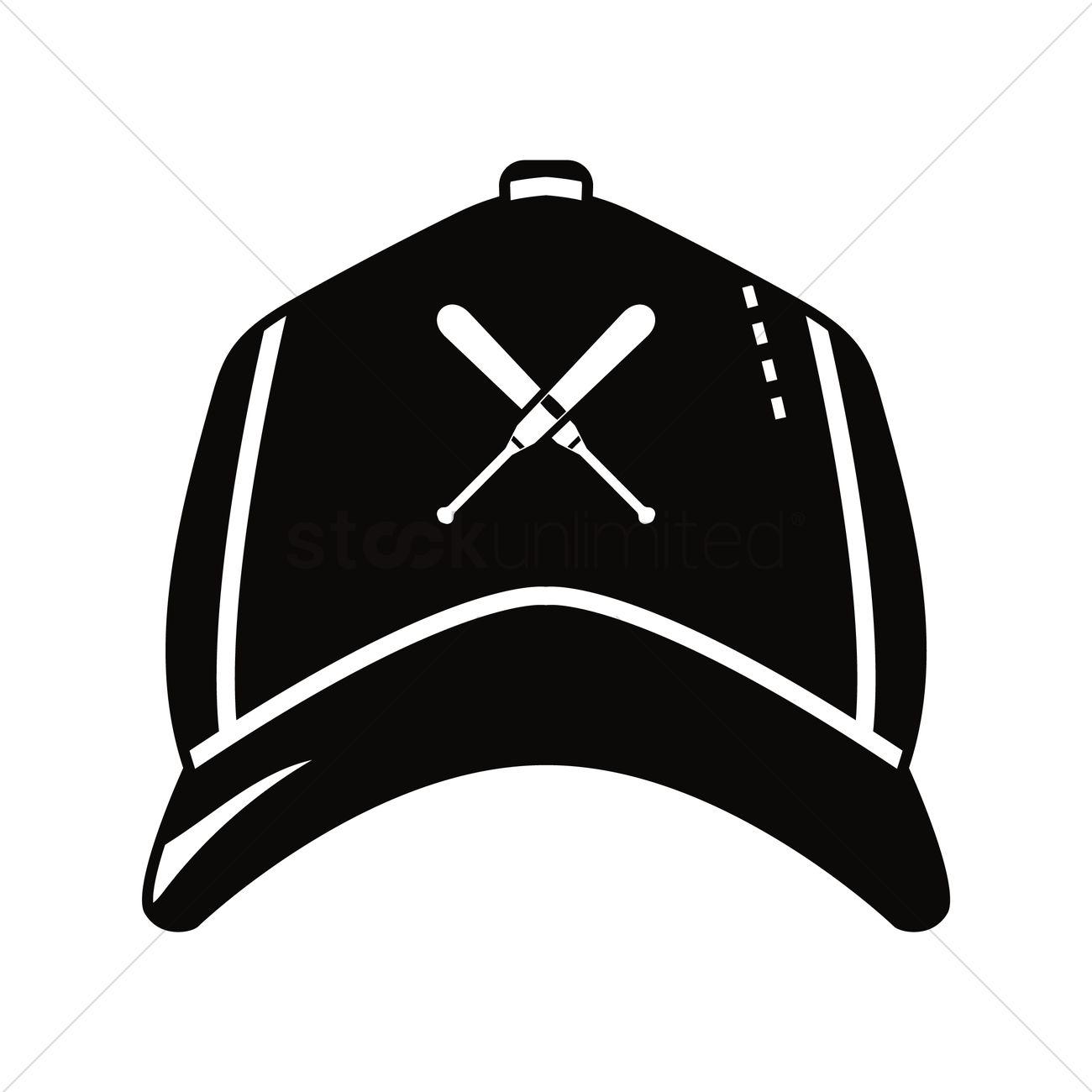 1300x1300 Baseball Cap Vector Image