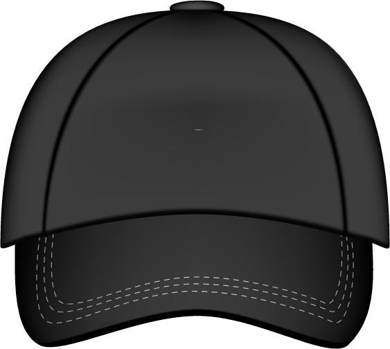 563x504 Baseball Hats Vector Models