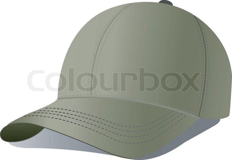 800x552 Vector Illustration Of Baseball Cap. Stock Vector Colourbox