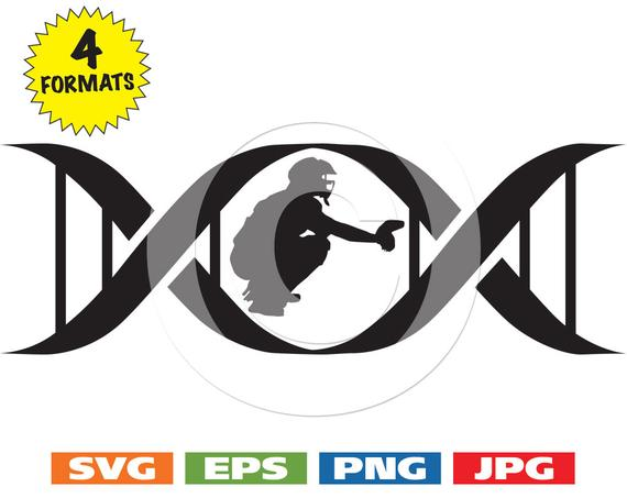 570x453 In My Dna Baseball Catcher In A Dna Symbol Svg Cutting Files Etsy