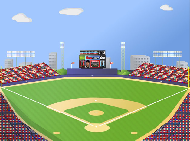 628x465 Baseball Clipart Baseball Stadium