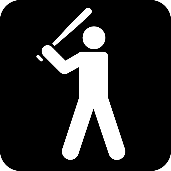 600x600 Baseball Bat Clipart Baseball Diamond