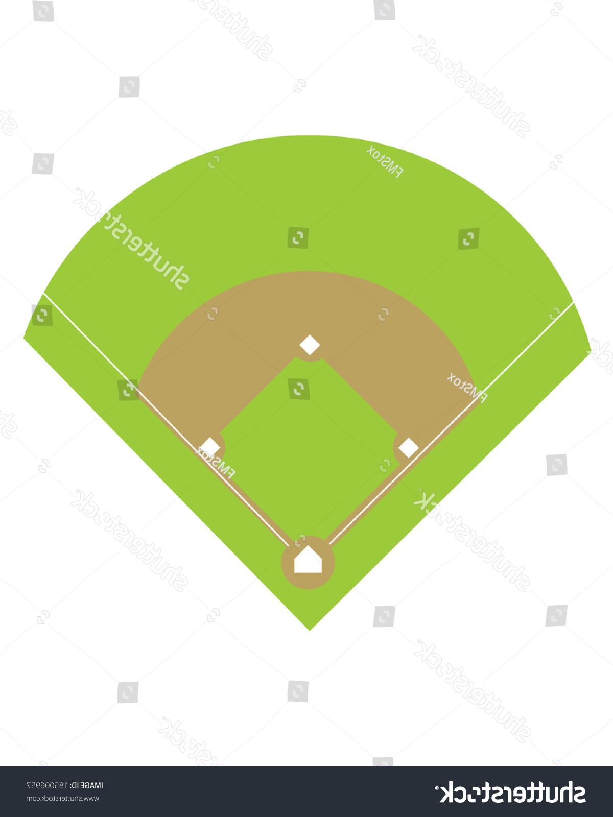 1200x1600 Hd Stock Vector Baseball Diamond And Field Photos