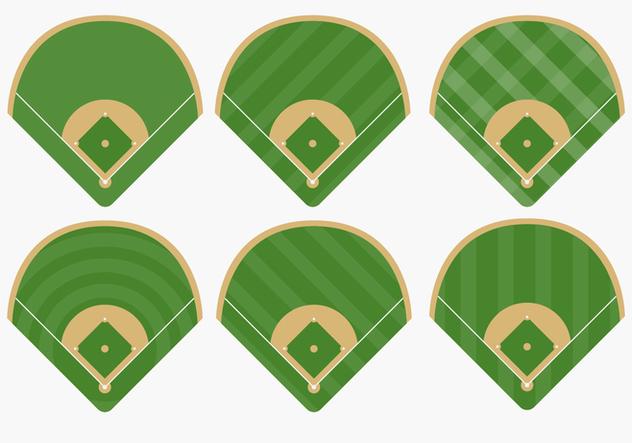 632x443 Types Of Baseball Diamond Vectors Free Vector Download 363905