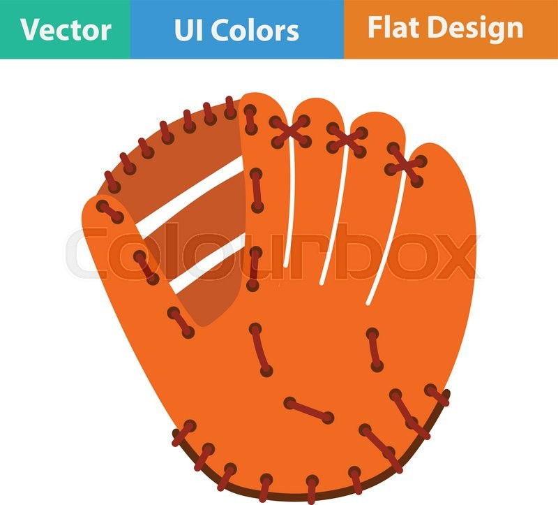 Baseball Glove Vector At Getdrawings Com Free For Personal