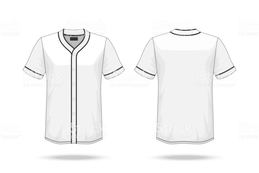 259x173 Download Vector Baseball Jersey Mockup Clipart T Shirt Baseball