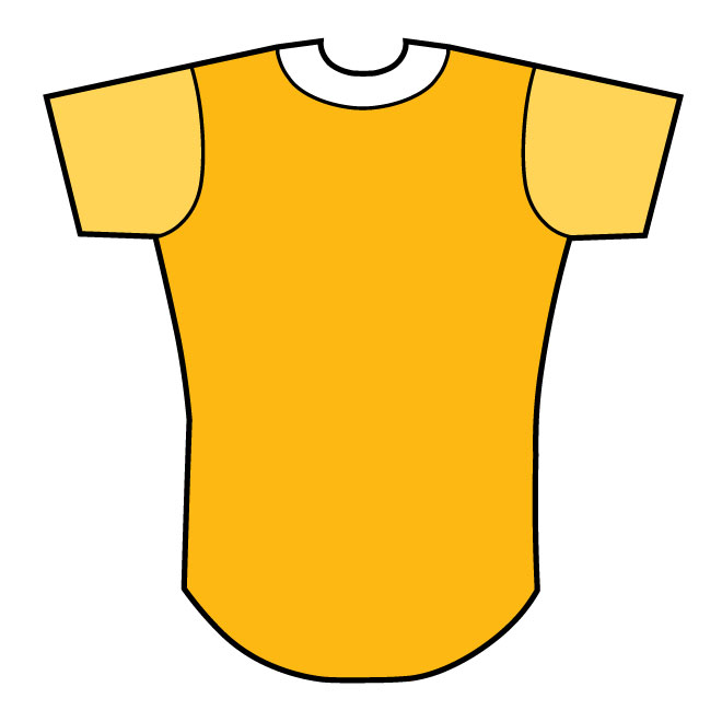 660x660 Baseball Shirt Vector