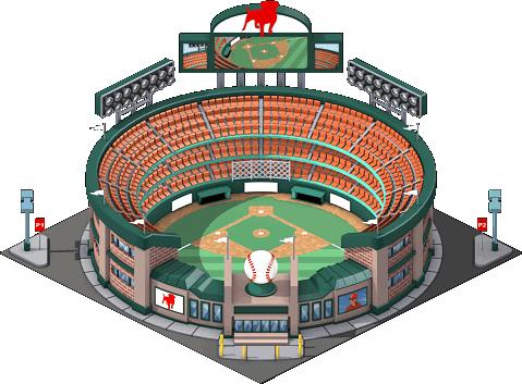 Baseball Stadium Vector