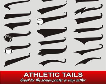 Baseball Tail Vector