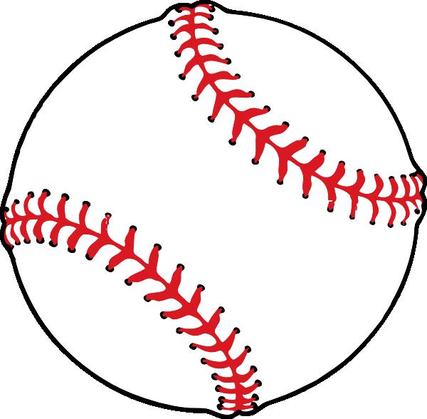 Baseball Threads Vector