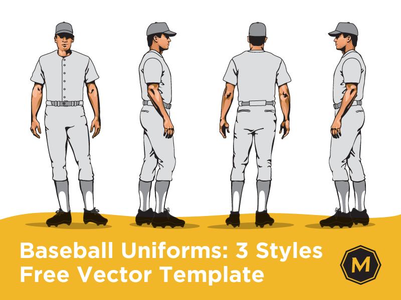 800x600 Baseball Uniform Template By Micah Sledge