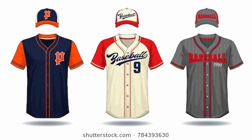 503x280 Blank Baseball Uniform Template Unique Blank Baseball Template