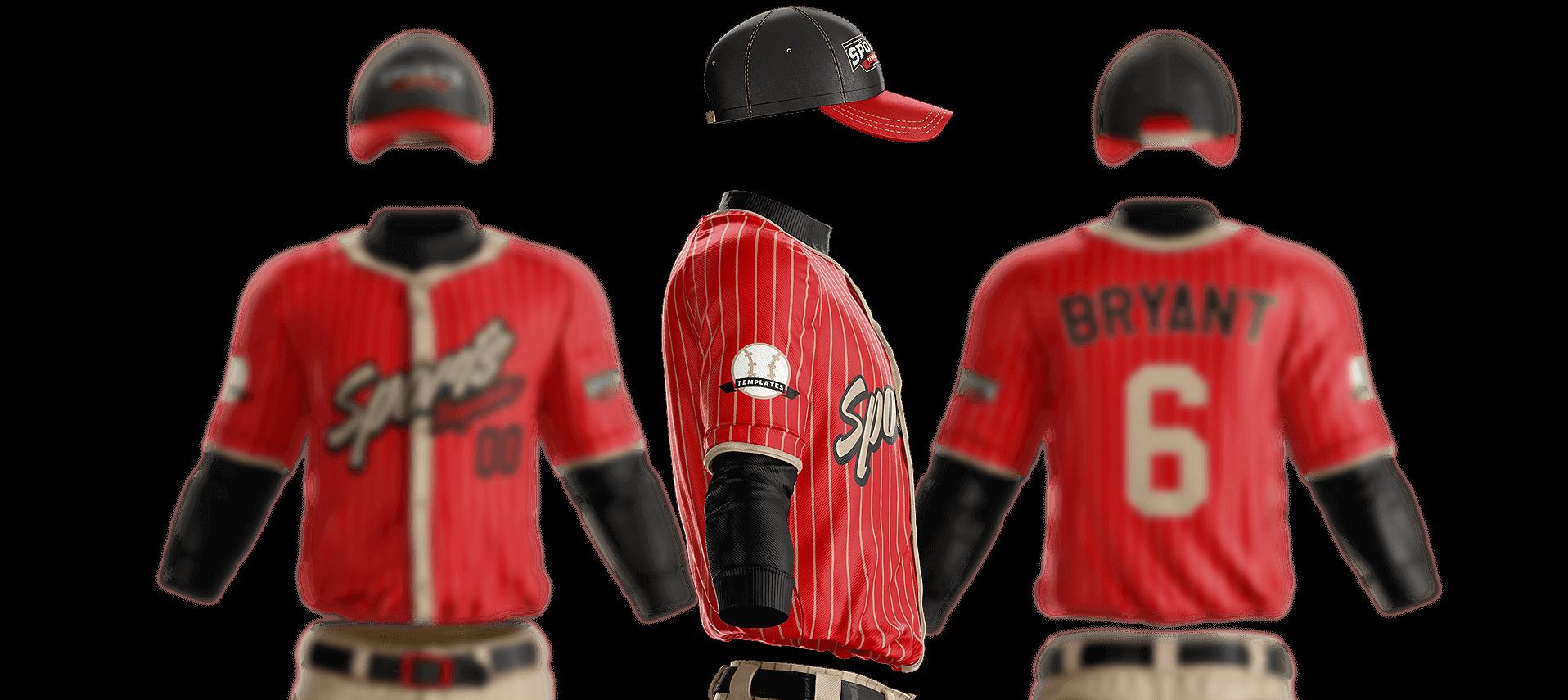 1916x855 Grand Slam Baseball Uniform Template Sports Templates
