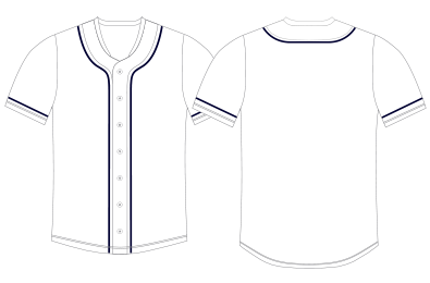 Baseball Uniform Template Vector At Getdrawings Com Free For