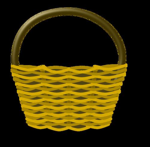 500x488 Empty Shopping Basket Vector Image Public Domain Vectors
