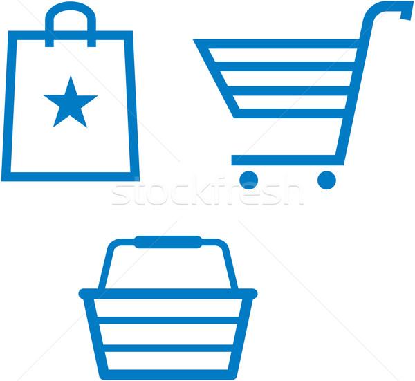 600x551 Shopping Items Shopping Cart, Shopping Bag And Shopping Basket