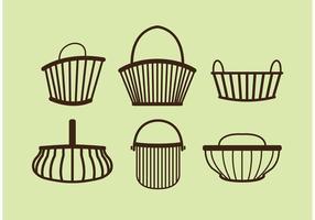 286x200 Basket Free Vector Art
