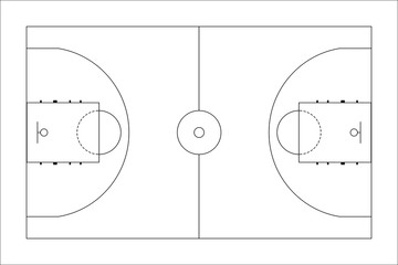360x240 Basketball Court Photos, Royalty Free Images, Graphics, Vectors