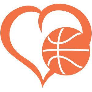 300x300 Basketball Heart Vector Clipart Eps Images. 708 Basketball Heart