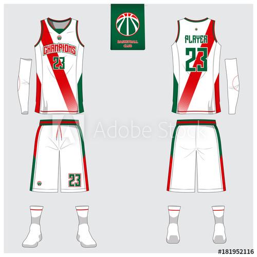 982ec11c473d 400x283 Basketball Uniform Vector Drawing. 1. 500x500 Basketball Uniform  Template Design. Tank Top T Shirt Mockup For
