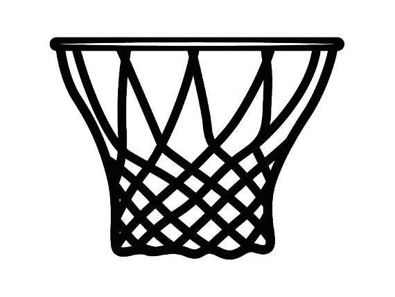 570x428 Basketball Net Clipart 40035396 Basketball Hoop Vector