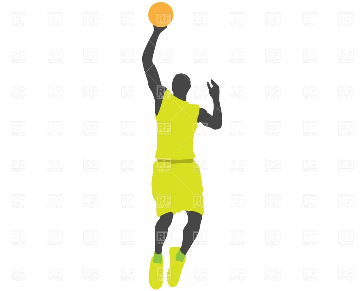 1200x960 Basketball Player Jump Vector Image Vector Artwork Of People