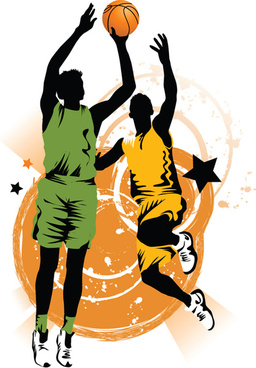 256x368 Basketball Player Vector Free Vector Download (679 Free Vector