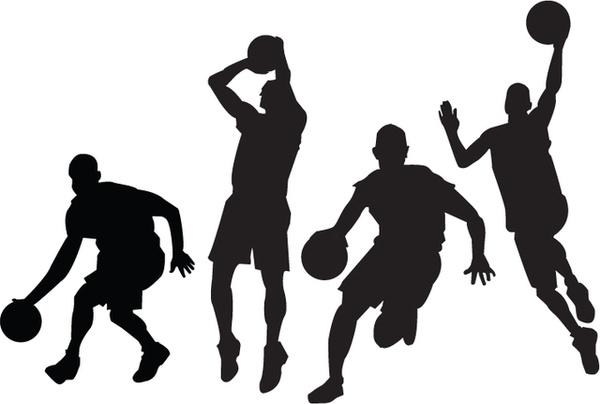 600x404 Basketball Players Vectors Free Vector In Adobe Illustrator Ai