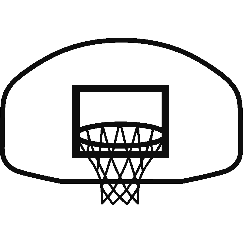 Basketball Rim Vector