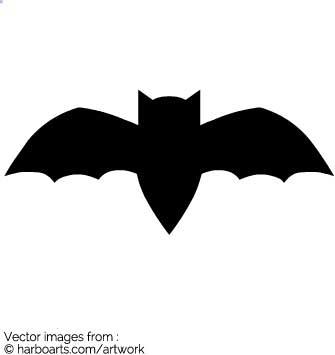 335x355 Download Bat Silhouette
