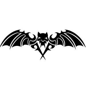 300x300 Scary Bat Vector