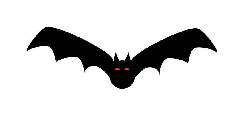 800x400 Bat Free Vector 4vector