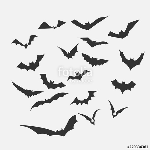 500x500 Bat Vector For Halloween Content Stock Image And Royalty Free