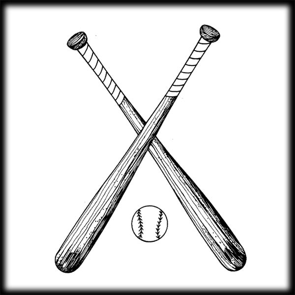 600x600 Pictures Of Baseball Bat Vector Free Download