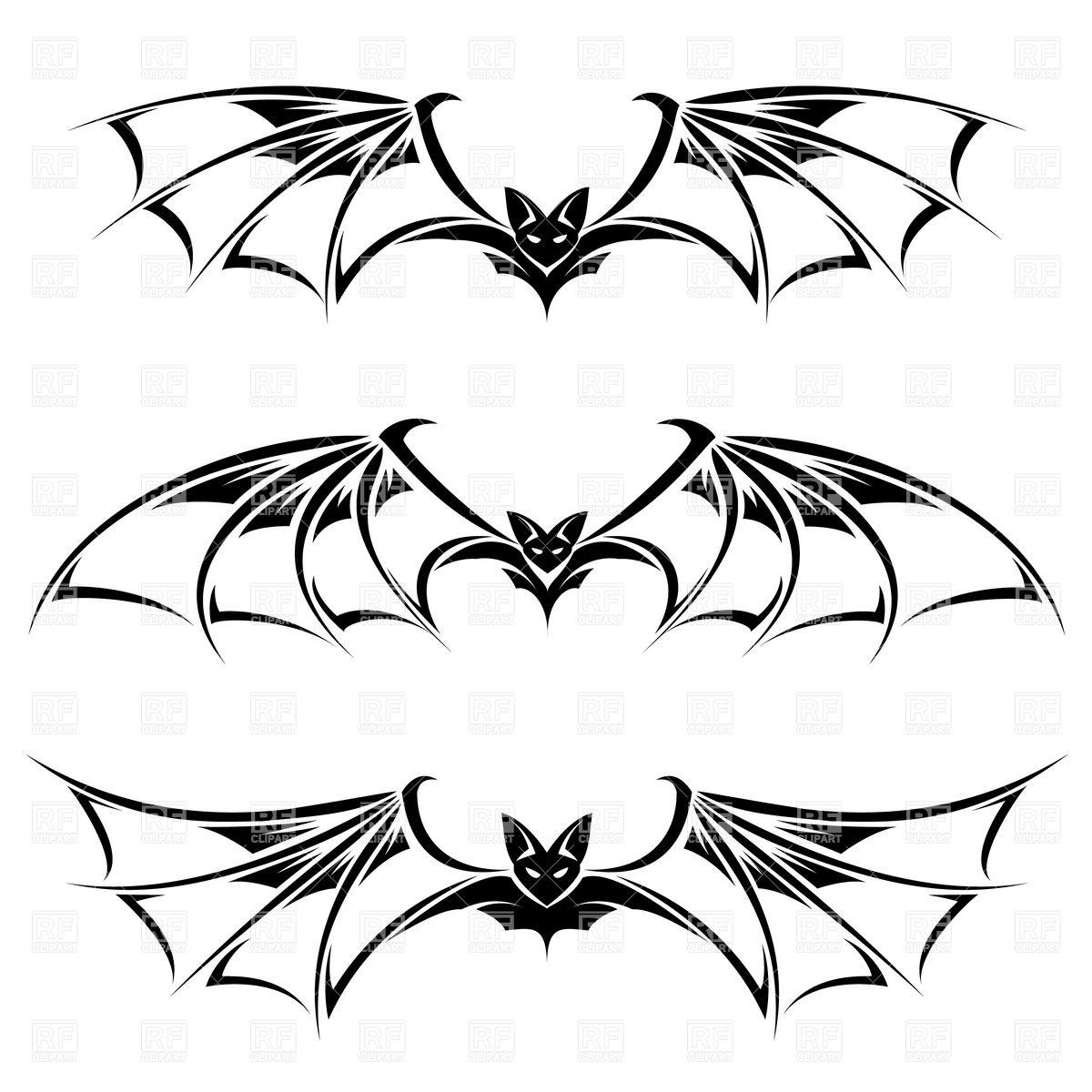 1200x1200 Bat Wing Vector Clip Art Eps Clipart Panda