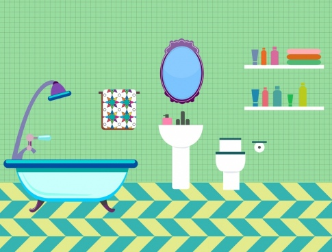 485x368 Bathroom Free Vector Download (72 Free Vector) For Commercial Use