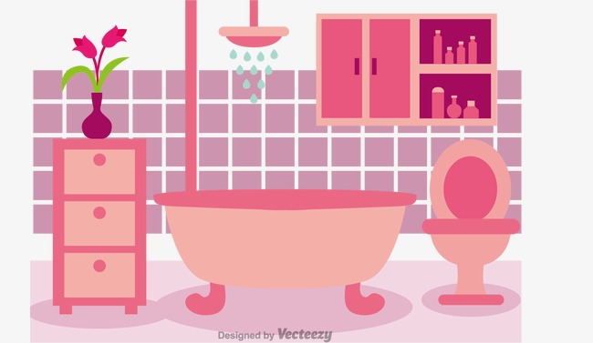 650x377 Vector Bathroom, Vector, Bathroom, Bathtub Png And Vector For Free