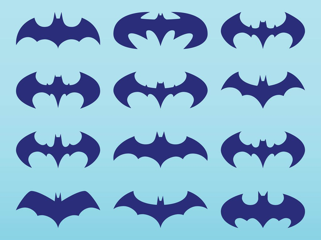 1024x765 Batman Logo Pack Vector Art Amp Graphics