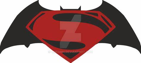 474x214 Batman Vs Superman Logo Vector. Superman Vs Batman Dawnofjustice