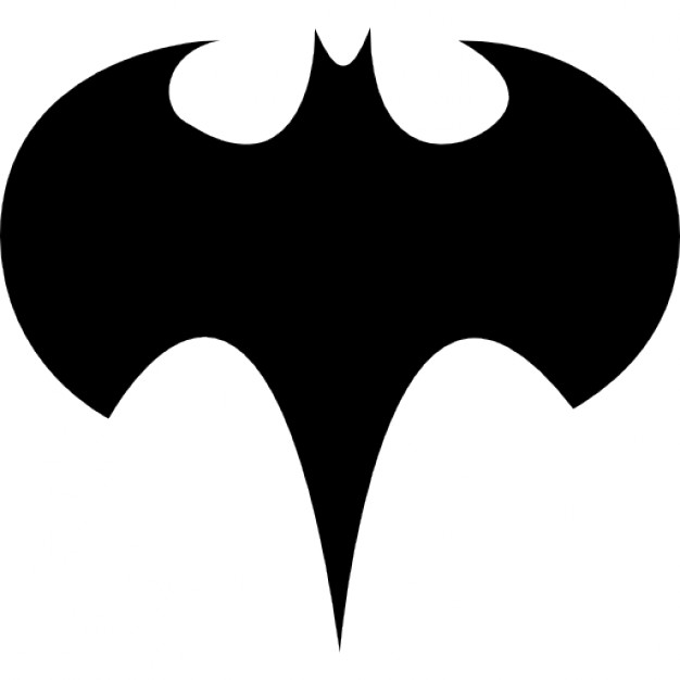 626x626 Batman Logo Silhouette Icons Free Download