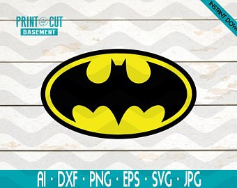 340x270 Batman Vector Etsy