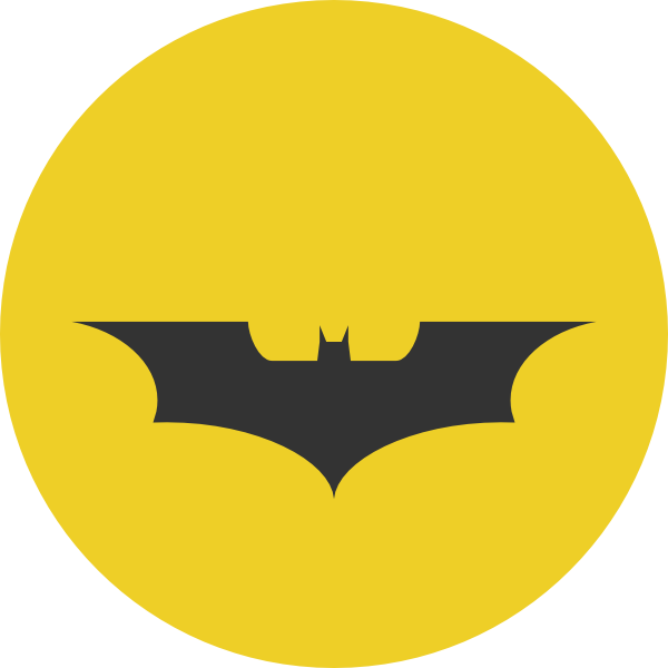 600x600 Batman Clipart Vector