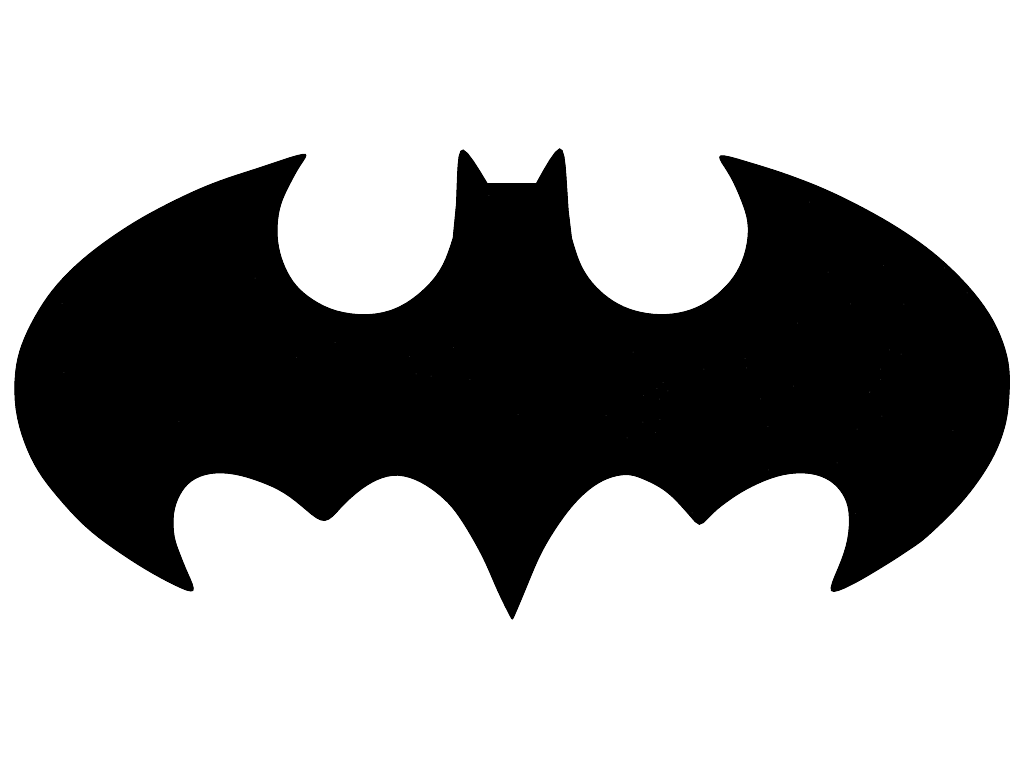 1024x768 Batman Icons