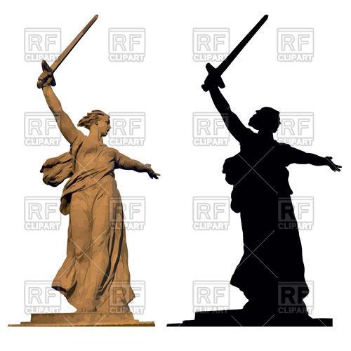 500x500 Motherland Statue In Volgograd, Dedicated To The Stalingrad Battle