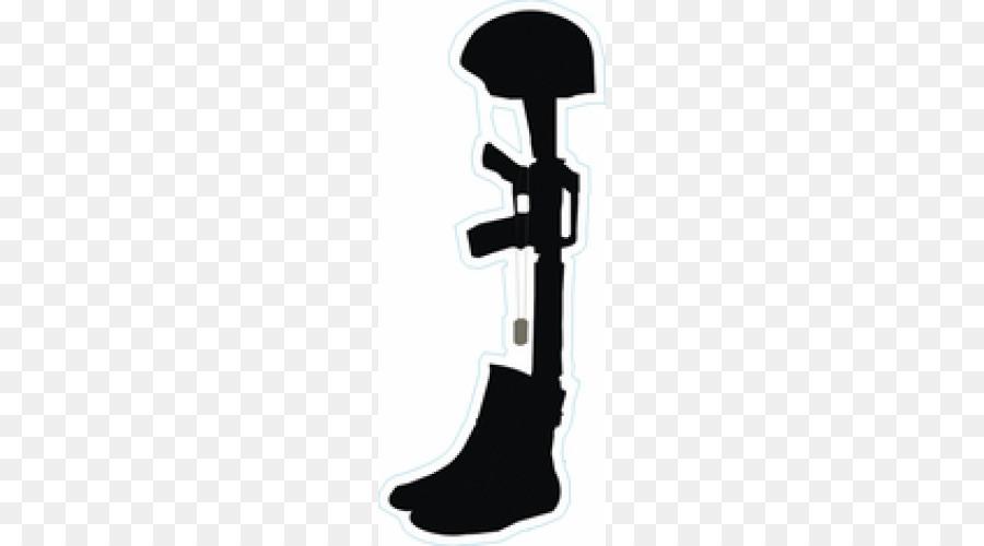 900x500 Vietnam Veterans Memorial Soldier Battlefield Cross Military Decal
