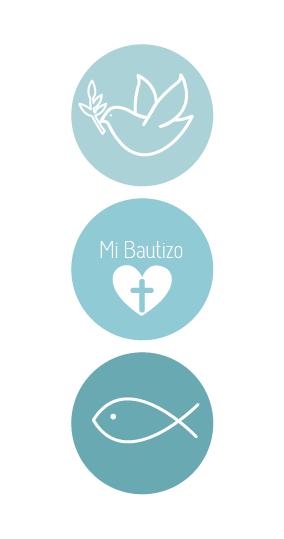 284x539 Para Bautizo Felicity Invitaciones Para