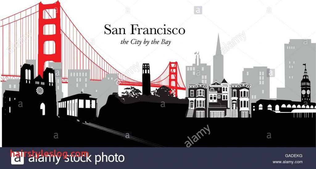 1024x549 Classy San Francisco Skyline Vector Intended For Home Remodel San
