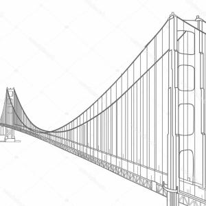 300x300 Golden Gate Bridge Solid Vector Illustration Gm Lazttweet
