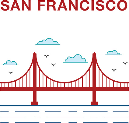 424x407 Golden Gate Clipart Place