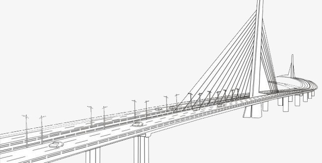 650x330 Shenzhen Bay Port Bridge, Bridge Clipart, Bridge, Shenzhen Png